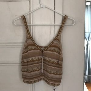 Alice and Olivia sweater crop top, new with tag